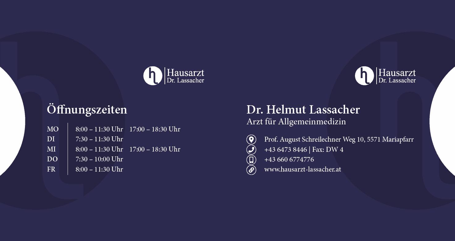 E-Card Hüllen - Hausarzt Dr. Lassacher