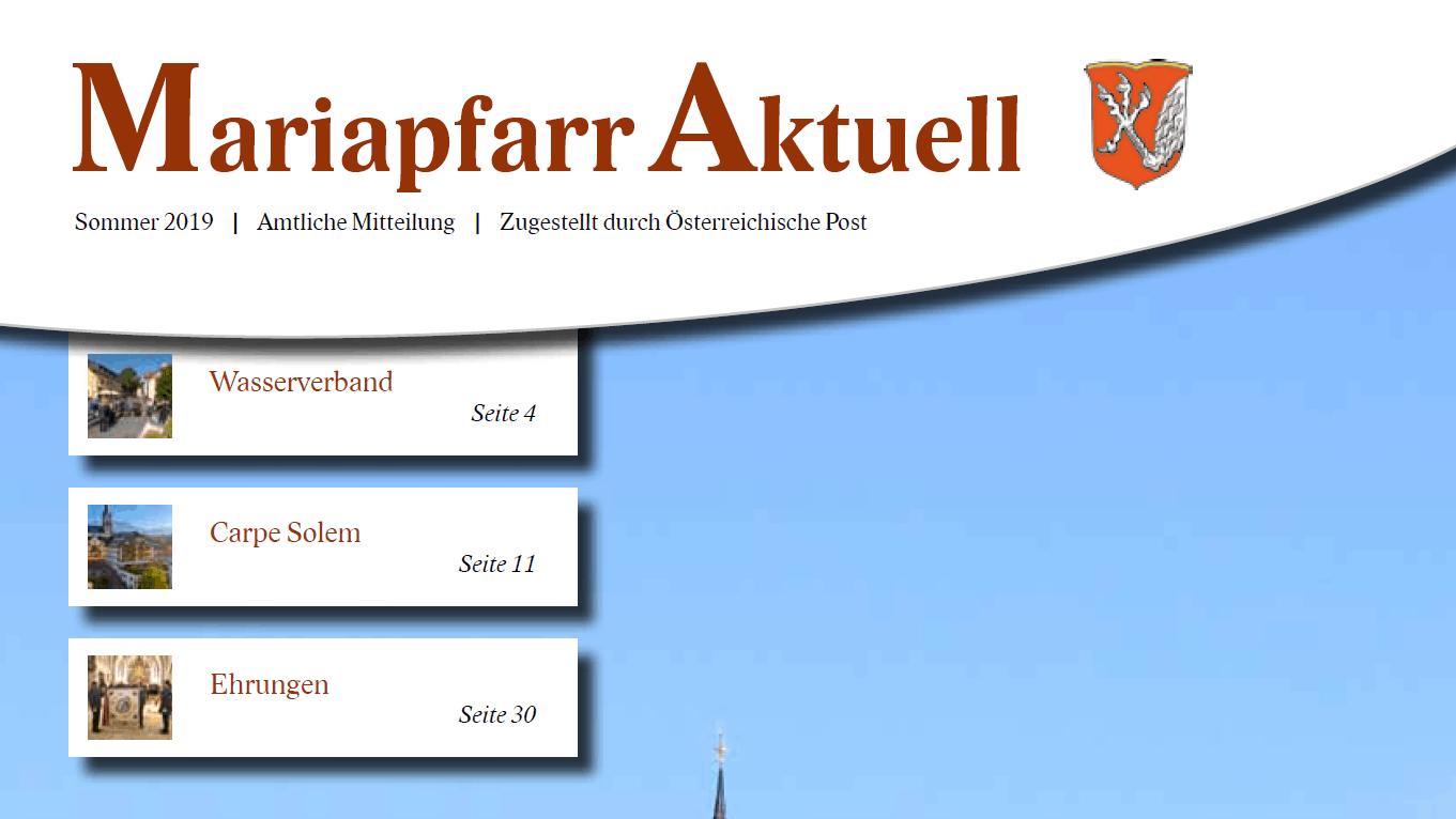 Dr. Lassacher - Gemeindezeitung Mariapfarr